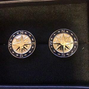 Brand New Cufflinks - Compass Design (Men)